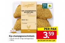 kip champignonschnitzels