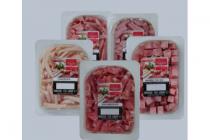 slagers hamblokjes ham  beenham bacon  of kipreepjes