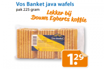 vos banket java wafels