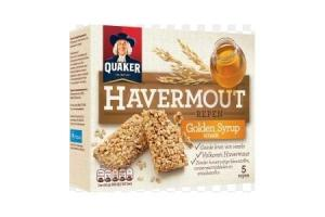 quaker havermout repen golden syrup