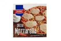 perfekt pizza mozarella