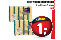 multy schuursponsen