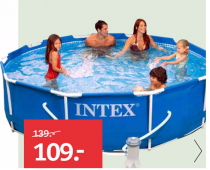 intex zwembad frame pool