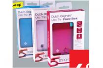 dutch originals ultra dunne powerbank oplaadbare batterij