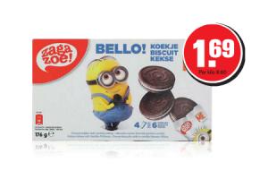 zagazoe minions biscuits