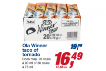ola winner taco of tornado