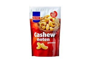 perfekt gezouten cashewnoten