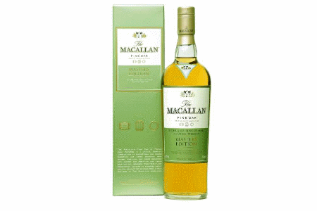 the macallan fine oak master edition whiskey