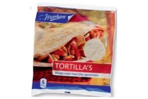 markant tortillas