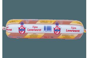 kroon fijne leverworst 500 gram