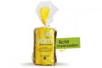 yam glutenvrij brood licht meerzaden