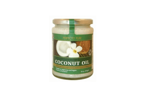 perfectly pure virgin coconut oil