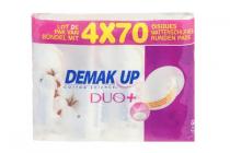 demakup duoplus voordeelverpakking 4 x 70 stuks
