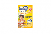 bambix zonnige ontbijtpap 8granen vanille 12mplus