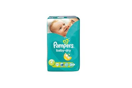 pampers luiers baby dry mini 2