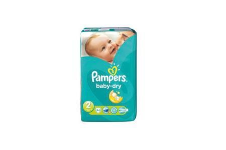 pampers luiers baby dry mini 2