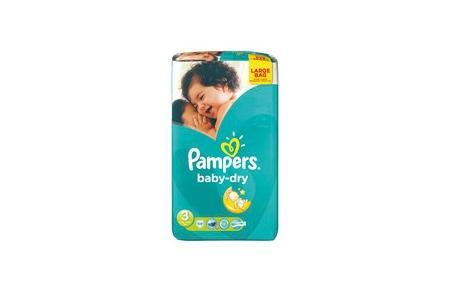 pampers luiers baby dry midi 3