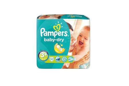pampers luiers baby dry midi plus 3plus