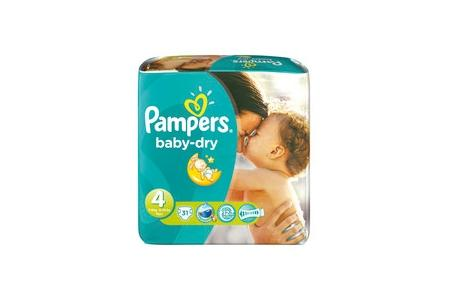 pampers luiers baby dry midi maxi 4