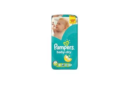 pampers luiers baby dry midi maxi plus 4plus