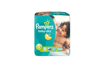 pampers luiers baby dry junior 5