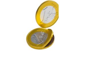 reuzen chocolade euromunt