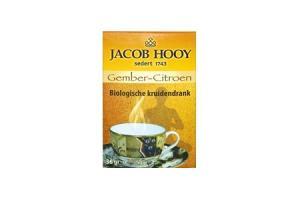 jacob hooy biologische kruidenthee gember citroen