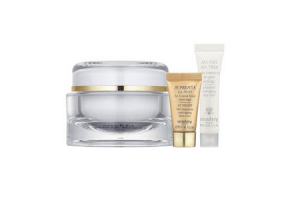 sisley set global anti age 50 ml plus all day all year 10 ml plus supreme 5 ml