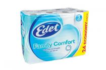 edet family comfort toiletpapier 3 laags