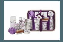 luxe houten dienblad geschenkset lavender finest