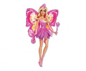 barbie vlinder toverfee