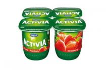 activia aardbei yoghurt