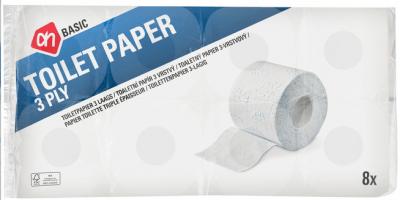 Ah Wc Papier.Ah Basic 3 Laags Toiletpapier