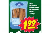 gerookte makreelfilet