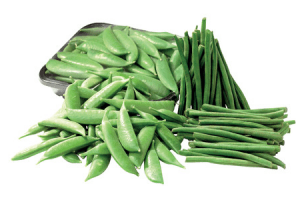 peulen sugar snaps of haricots verts