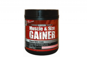 muscle  size gainer strawberry