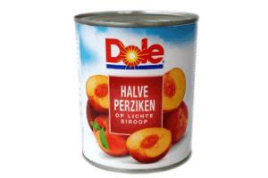 dole halve perziken op lichte siroop