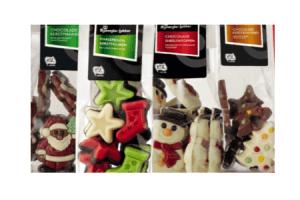 bijzonder lekker chocolade kerstfiguren