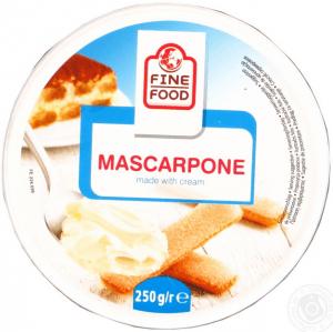 fine food mascarpone 82plus