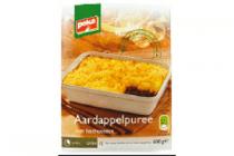 peka aardappelpuree met hacheesaus