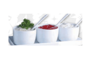 saus of snack serveerschaaltjesset