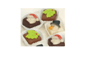 luxe kerst petit fours
