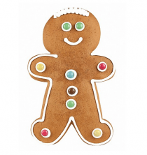 gingerbread man jamin