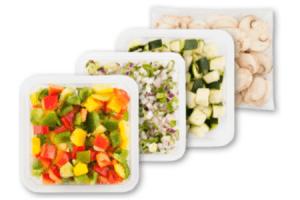 mini gourmet groente