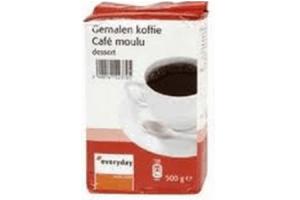 everyday koffie roodmerk gemalen