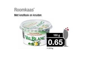 val blanc roomkaas