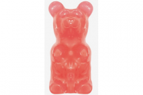 giant gummy bear bubblegum on a stick