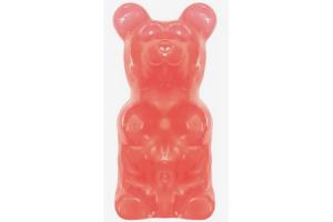 giant gummy bear bubblegum on a stick