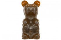 giant gummy bear cola on a stick