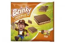 brinky choco wafer